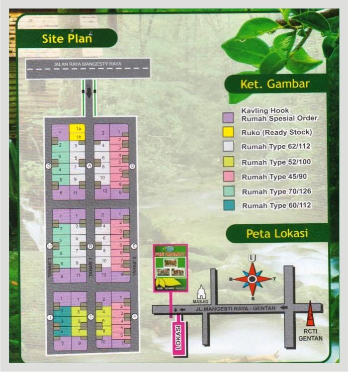 Mayang Siteplan